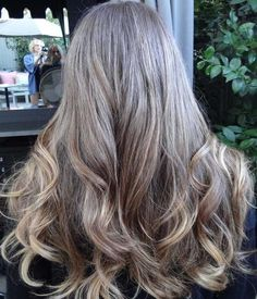 Medium Brown With Golden Long Hairstyles