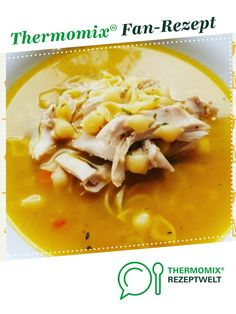 Chicken soup for flu plagued by pussymuschi. A Thermomix ® recipe from the Soups category www.de, the Thermomix® Community. The post Chicken soup for flu plagued appeared first on Garden ideas. Chicken Recipes Thermomix, Crock Pot Recipes, Baked Chicken Recipes, Turkey Recipes, Pasta Recipes, Soup Recipes, Chicken Soup For Flu, Healthy Dinner Recipes, Vegetarian Recipes