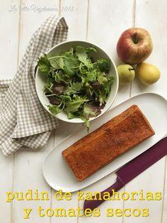 La Olla Vegetariana: Pudin de zanahorias y tomates secos