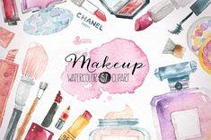 Makeup & Cosmetics clipart par OctopusArtis . Lady Bird Red    http://ladybirdr.blogspot.fr/