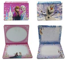 Lot of 2 Disney Trip Frozen Pink Elsa  Anna  Olaf Autograph Book * Read more reviews of the product by visiting the link on the image.