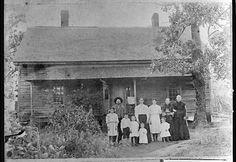 Pioneer family, Pine Log, Bartow County, Georgia, ca. 1885
