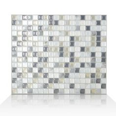 Peel and stick tile backsplash if you need a brand new home decor look. For kitchen, bathroom, laundry room and more. Fast delivery. Dimensions: 11.55