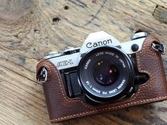 CANON AE-1 AE-1p a-1 leather cameras case, Canon Special Case,Leather Camera Case, customized camera bag    【Material】: *Outside:top quality