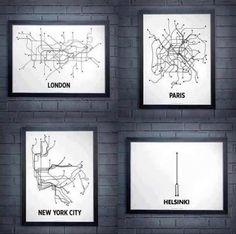 Transporte en Helsinki: El metro