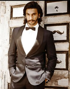 Ranveer Singh ....haha I appreciate the fun he is having with the moustache