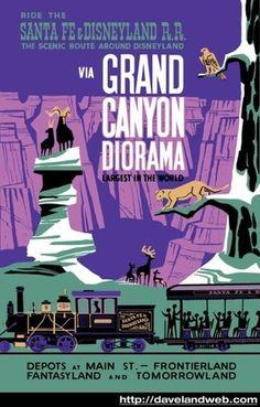 VIA GRAND CANYON DIORAMA