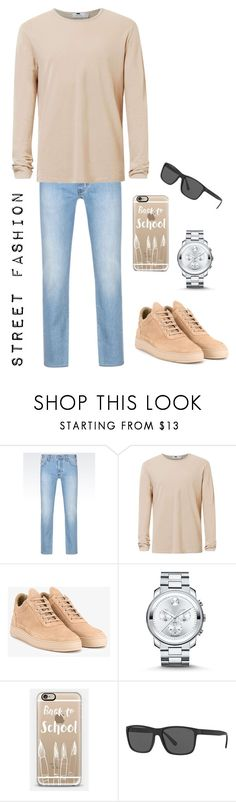 """Street Fashion 🔶😎"" by prince2009 ❤ liked on Polyvore featuring Armani Jeans, Topman, Filling Pieces, Movado, Casetify, Polo Ralph Lauren, men's fashion and menswear"