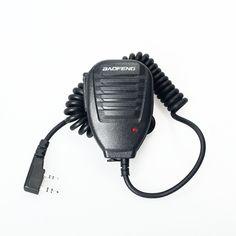 Baofeng walkie talkie radio de dos vías Altavoz MIC Micrófono De Mano para Pofung UV-5R UV-5RE PLUS UV-82 UV UV-B5-B6 UV 5R UV-3R