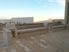 Detail architettura masseria cantina puglia light outdoor design