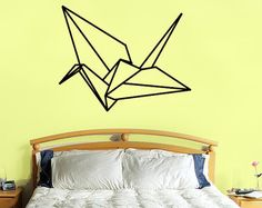 Popular items for crane wall decal on Etsy