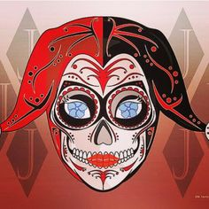 Harley Quinn day of the dead
