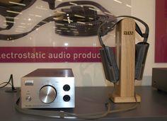 Retro Electrostatic Headphones