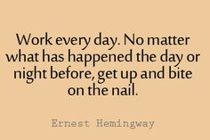 11 Ernest Hemingway Quotes to Inspire Literary Quotes, Writing Quotes, Poetry Quotes, Book Quotes, Me Quotes, Motivational Quotes, Inspirational Quotes, Life Quotes To Live By, Coffee Quotes