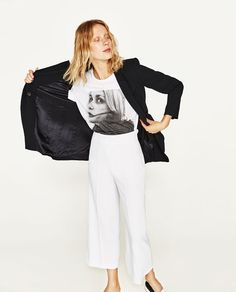 Image 3 of HIGH RISE TROUSERS from Zara