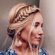 43 Cool Blonde Box Braids Hairstyles to Try - Hairstyles Trends Night Out Hairstyles, Box Braids Hairstyles, Summer Hairstyles, Cool Hairstyles, Hairstyles With Headbands, Pretty Braided Hairstyles, Men's Hairstyle, Hairstyles Haircuts, Wedding Hairstyles