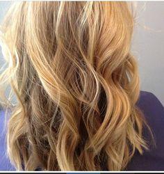 Blonde hair. Balayage J McQueen Salon featuring Teri Ward