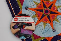 My Craftsy class Creative Quilting: Alternatives to Free-motion is now available on DVD! www.PiecesBeWithYou.com