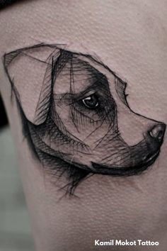 Dog/Pet Tattoos: Meaning And Symbolism | Animal Tattoos - Do you want to pay tribute to your four-legged best friend? Dog and pet tattoos are a popular choice among animal lovers. Click here for the meaning and symbolism behind dog and pet tattoos. Self Tattoo | Tattoo Ideas | Tattoo Designs | Body Art | Animal Tattoos For Women | Animal Tattoos For Men | Pet Tattoos | Pet Tattoos Dog | Pet Tattoo Ideas | Pet Tattoos Memorial | Meaningful Tattoos Animal Tattoos For Women, Best Tattoos For Women, Tattoos For Guys, Neue Tattoos, Dog Tattoos, Sleeve Tattoos, 22 Tattoo, Home Tattoo, Religious Tattoos For Men