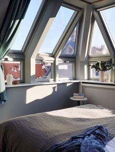 Décorez comme le Coco hotel à Copenhague ! // La junior suite sous les toits
