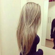 Light blonde #hair