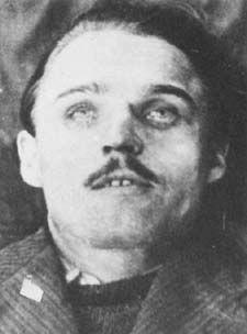 Josef Valčík. Postmortem photo