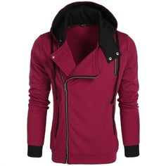 Brand: COOFANDY   Material: Cotton Blend   3 Colors: Red, Gray, Black   Collar: Hooded   Sleeve: Short Sleeve   Style: Basic Coat   Pattern: Solid   Decor: Button, Pocket   Opportunity: Casual   Size  Shoulder  Sleeve  Chest  Length S 47 cm 18.3 inch 65 cm 25.4 inch 114 cm 44.5 inch 63 cm 24.6 inch M 48 cm 18.7 inch 66 cm 25.7 inch 118 cm 46 inch 65 cm 25.4 inch L 49 cm 19.1 inch 68 cm 26.5 inch 122 cm 47.6 inch 69 cm 26.9 inch XL 50 cm 19.5 inch 69 cm 26.9 inch 130 cm 50.7 inch 70 cm…