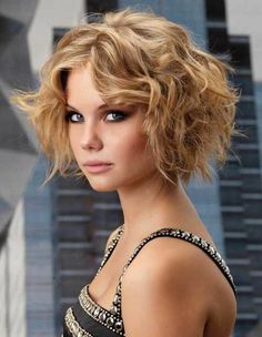 20 Short Curly Hairstyles for Best Curly Hair Cuts – Latest Bob HairStyles Short Curly Hairstyles For Women, Haircuts For Curly Hair, Short Curly Bob, 2015 Hairstyles, Curly Hair Cuts, Messy Hairstyles, Short Hair Cuts, Curly Hair Styles, Frizzy Hair