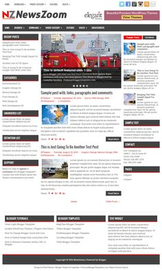 NewsZoom Blogger Template:  NewsZoom is 3 Columns, Responsive Blogger Template for News Blogs. NewsZoom Blogger Template has a Featured Post Slider, 2 Navigation Menus, Header Banner Widget, Related Posts with Thumbnails, Breadcrumb, Social and Share Buttons, Left and Right Sidebars, 3 Columns Footer, Google Fonts, Tabbed Widget and More Features.  http://www.premiumbloggertemplates.com/newszoom-blogger-template/