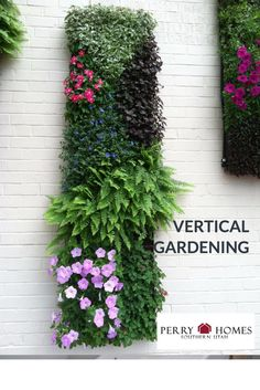 There are many uses for vertical gardening techniques. The most common is to conserve space. However, if space isn't your issue, vertical gardening can be used as creative outdoor decorating, or for people that can't bend and stoop as much as traditional gardening often requires.