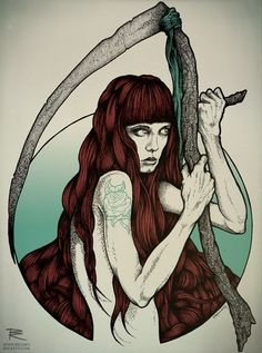 richey beckett - Google Search Goddess Art, Tattoo Inspiration, Fantasy Art, Illustrations, Drawings, Wales, Artist, Creativity, Google Search