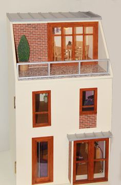 the contemporary home in miniature
