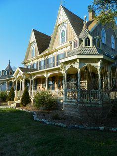 Victorian with wrap around porch ~