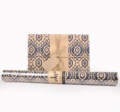 Inky Co.'s Ikat Indigo roll wrap