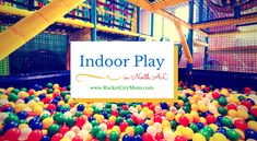 Indoor Playgrounds and Activities for kids in North Alabama including Huntsville, Madison, and Madison County. When it's too cold, too wet, or too hot to play outside, here's where you can go to let your little ones get their sillies out!