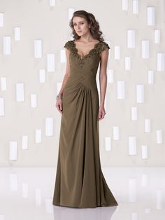 Kathy Ireland for Mon Cheri - Special Occasion  »  Style No. 2BE261  »  kathy ireland for Mon Cheri #stylemywedding