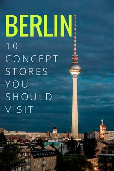 10 Berlin Concept Stores You Should Visit // ©Victor van Werkhooven // Creative Commons