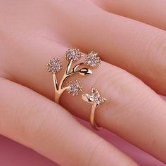 Ajustável Anéis de Casamento para As Mulheres CZ Zircon da cor do Ouro de Cobre de Luxo de Design Da Marca Anel Aneis Anillos joias Bijoux Femme