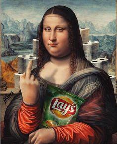 Mona Lisa Drawing, Tbt Instagram, La Madone, Mona Lisa Parody, Mona Lisa Smile, Culture Shock, Arte Popular, Mood, Aesthetic Art