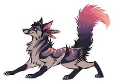 Peacock,male used to be a cat but was transformed with dark magic by Dual's dark side kind and fun loving but still getting used to being a wolf his power is unknown no mate or pups part of Vatra's pack