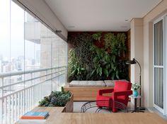 Apartamento Rua Pensilvania / Clarissa Strauss #varanda