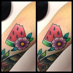 watermelon tattoo ideas - Buscar con Google