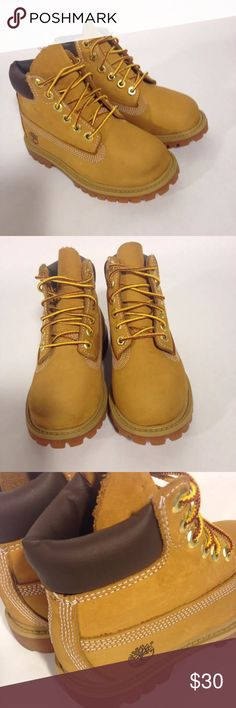 toddler timberland boots size 9.5