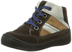 Superfit COOLY – zapatillas de running de piel bebé, color marrón, talla 24 EU / 7 UK Kinder