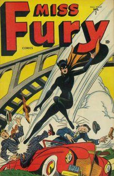Miss Fury Comics #7