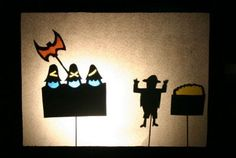 DIY manualidad infantil teatro sombras Diy And Crafts, Crafts For Kids, Arts And Crafts, Paper Crafts, Shadow Puppets, Puppet Show, Superhero Logos, Storytelling, Art For Kids