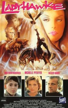 Directed by Richard Donner. With Matthew Broderick, Rutger Hauer, Michelle Pfeiffer, Leo McKern. Philipe Gastone, a thief, escapes from the dungeon at Aquila, sparking a manhunt. He is nearly captured when Captain Navarre befriends him. Navarre has been hunted by the Bishop's men for two years, ever since he escaped with the Lady Isabeau who the Bishop has lusted after. Navarre and Isabeau have a curse that the Bishop has placed on them that causes Navarre to be a wolf during the night a...
