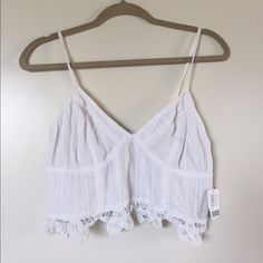 Free People Crop Top - BRAND NEW! Never been worn, tags still on! Free People Tops Crop Tops