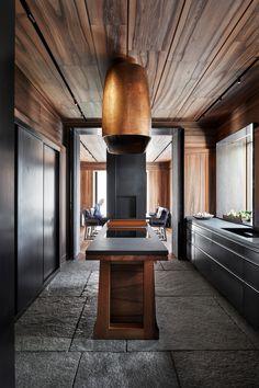 Kitchenette, Mercer Hotel, Christian Liaigre, St Moritz, Paris Home, Interior Architecture, Interior Design, Granite Flooring, Amazing Spaces