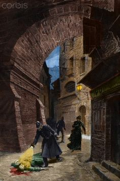 Discovery of a Victim of Jack the Ripper in London.